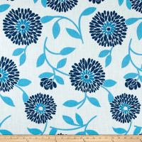 Ansley Home Decor Floral Blue/Cream