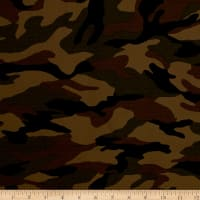 Kaufman Camo Cotton Printed Ripstop Earth
