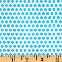Uppercase Dotty Turquoise