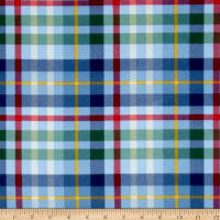 Newport Flannel Plaid Blue