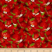 Berry Good Packed Strawberries Red