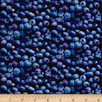Berry Good Packed Blueberries Blue