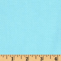 Timeless Treasures Pin Dot Aqua
