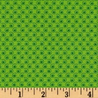 Quilt Camp Small Swirl Green