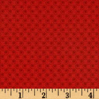 Quilt Camp Small Swirl Red