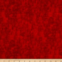 Timeless Treasures Flannel Studio Texture Red
