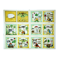 "Classic Storybooks Woodsy Wonders Book 36"" Panel Multi"