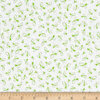 QT Fabrics Ribbons Of Hope Ribbons Green