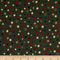 Homefront Girl Stars Dark Olive