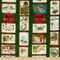 Penny Rose Joyous Christmas Sparkle Main Green
