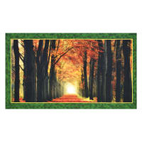 "QT Fabrics Artworks Digital In Love With Fall Again 23"" Panel Multi"