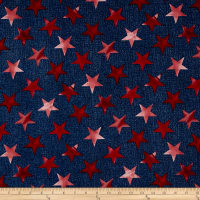 Oh My Stars American Classic Large Stars Navy/Red