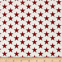 Oh My Stars American Classic Medium Stars Whitewash/Red