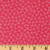 Tossed Square Dot Pink