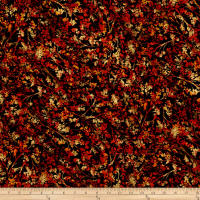 Kanvas Autumn Splendor Metallic Autumn Willow Black/Red
