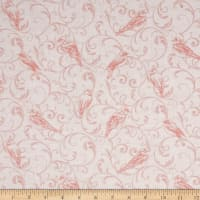 Bluebird Gathering Scroll Tonal Light Pink