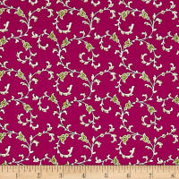 Medallion Muse Vines Purple/Green