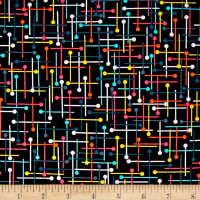 Kanvas Sew Sew Pin Geo Black/Multi