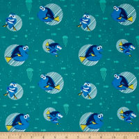 Disney Finding Dory Dory Faces Turquoise