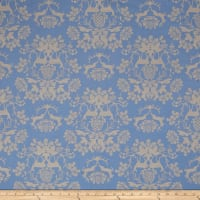 Riley Blake Organica Damask Blue