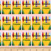 Riley Blake Crayola Box Pink
