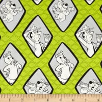 Yogi Bear Diamonds Green