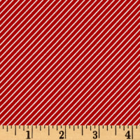 Riley Blake Wistful Winds Stripe Red