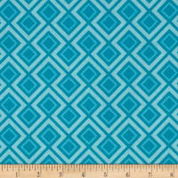 Riley Blake Fantine Geometric Blue