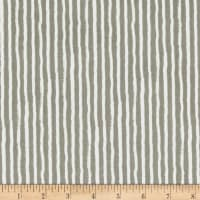 Riley Blake Knock on Wood Stripe Dark Gray