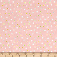 Riley Blake Sweet Orchard Dot Pink