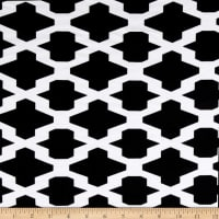 Ponte de Roma Trellis Diamond Black/White