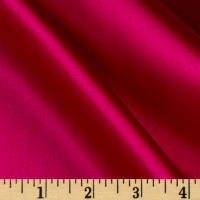 100% Silk Charmeuse Dark Magenta