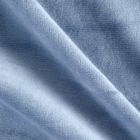 Solid Velour Dusty Blue