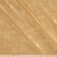 Rose Satin Jacquard Gold