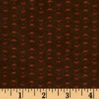 Moda Endangered Sanctuary Flannel Cross Dot Walnut