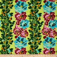 Amy Butler Eternal Sunshine Home Decor Sateen Rose Vine Citrus