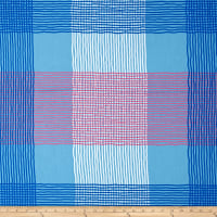 Jane Sassaman Cool Breeze Plaid Blue