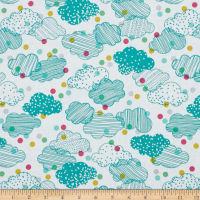 Erin McMorris Noteworthy Cloudy Day Seablue