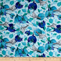 Baroque Garden Ornamental Azure