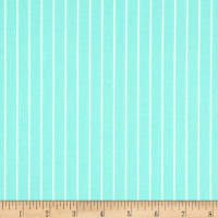 Verna Mosquera Sugar Bloom Candy Stripe Aqua