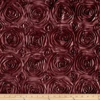 Wedding Rosette Satin Mauve