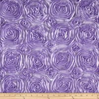 Wedding Rosette Satin Lavender