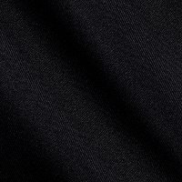 Gabardine Suiting Solid Black