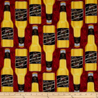 MillerCoors Genuine Draft Bottles Red
