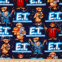 Universal E.T. Packed E.T. With Animals Glow In The Dark Navy