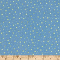 Kimberbell Little One Flannel Too! Random Dots Blue/Green