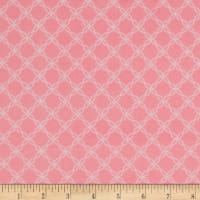 Kimberbell Little One Flannel Too! Lattice Pink