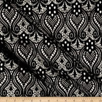 Ornamental Lace Black