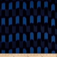 Dream Weaves Woven Ikat Check Blue