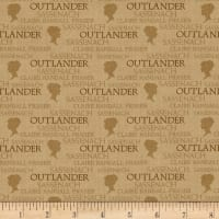 Outlander Small Logo Brown